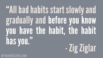 Bad Habits quote #2