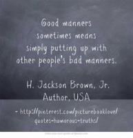 Bad Manners quote #2