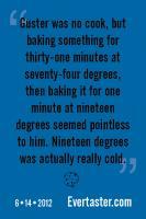 Baking quote #4