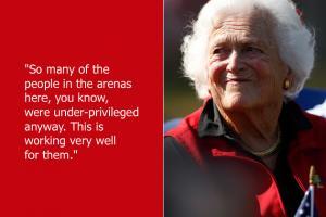 Barbara Bush's quote