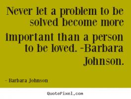 Barbara Johnson's quote