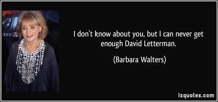 Barbara Walters's quote