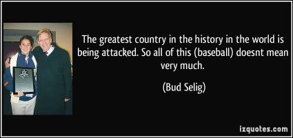 Baseball History quote #2