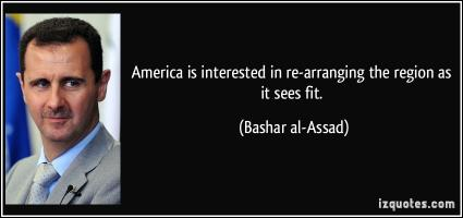 Bashar al-Assad's quote
