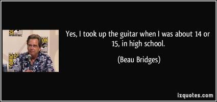 Beau Bridges's quote