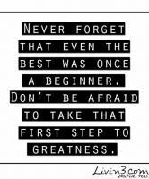 Beginner quote #1