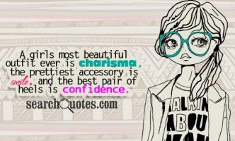 Being A Girl quote #2