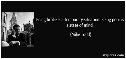 Being Broke quote #2