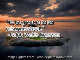 Being Misunderstood quote #2