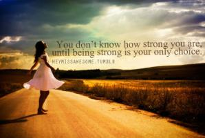 Being Strong quote #2