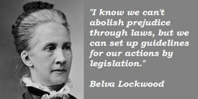 Belva Lockwood's quote #2