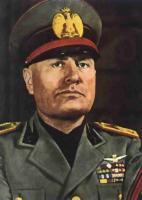 Benito Mussolini's quote