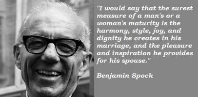 Benjamin Spock's quote