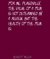 Bennett Miller's quote