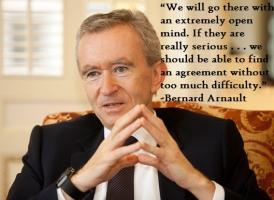 Bernard Arnault's quote