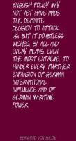 Bernhard von Bulow's quote #4