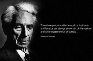Bertrand Russell's quote