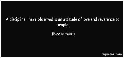 Bessie Head's quote #1