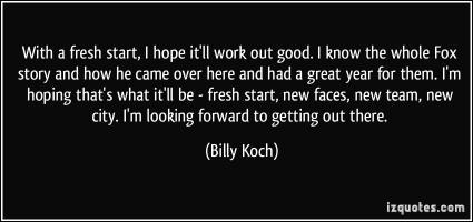 Billy Koch's quote #2
