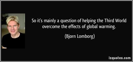 Bjorn Lomborg's quote