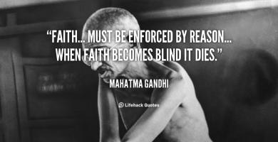 Blind Faith quote #2
