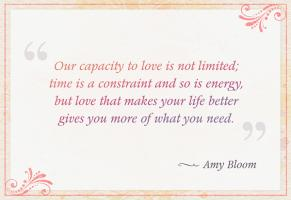Blooming quote