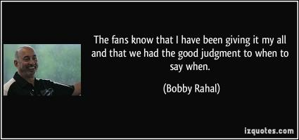Bobby Rahal's quote