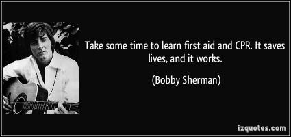 Bobby Sherman's quote