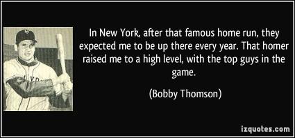 Bobby Thomson's quote #3