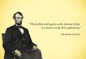Bogus quote #1