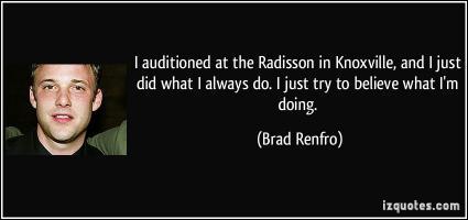 Brad Renfro's quote