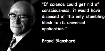 Brand Blanshard's quote