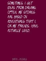 Brian Jacques's quote