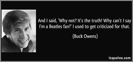 Buck Owens's quote