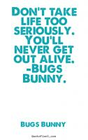 Bugs quote #4