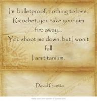 Bulletproof quote #2