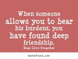 Burdens quote #1