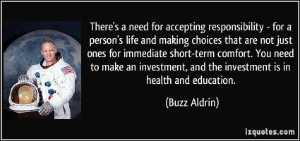Buzz Aldrin's quote