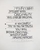 C. S. Lewis's quote
