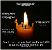 Candle quote #7