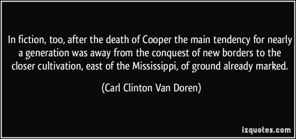 Carl Clinton Van Doren's quote