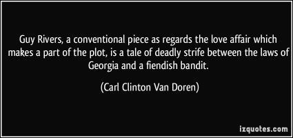 Carl Clinton Van Doren's quote #4