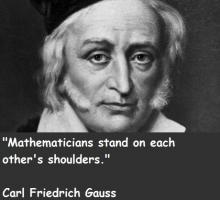 Carl Friedrich Gauss's quote