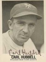 Carl Hubbell profile photo