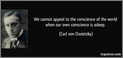 Carl von Ossietzky's quote #1