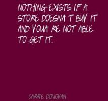 Carrie Donovan's quote