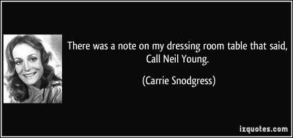Carrie Snodgress's quote