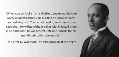 Carter G. Woodson's quote