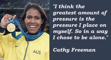 Cathy Freeman's quote