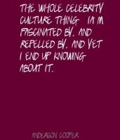 Celebrity Culture quote #2